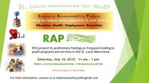 RAP July Event